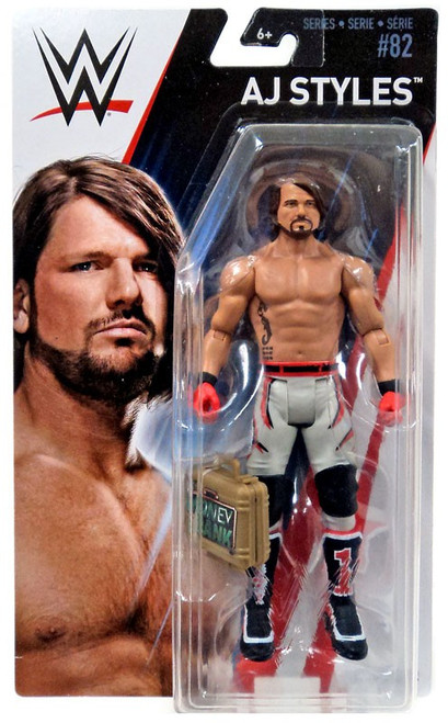 WWE Wrestling Series 82 AJ Styles Action Figure [Money in the Bank]