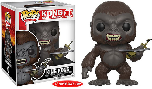 Funko Skull Island POP! Movies King Kong 6-Inch Vinyl Figure #388 [Super-Sized, Damaged Package]