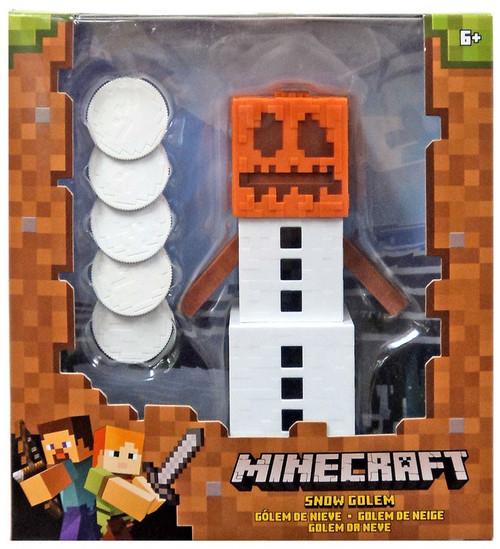Minecraft Snow Golem Action Figure [Brown Box]