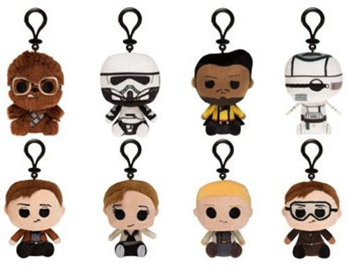 Funko Mystery Minis Plush Keychains Solo A Star Wars Story Mystery Pack