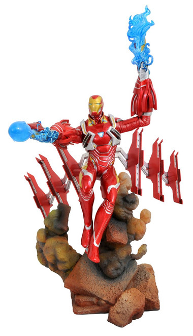 Avengers Infinity War Marvel Gallery Iron Man Mark 50 9-Inch Collectible PVC Statue [Helmet On]