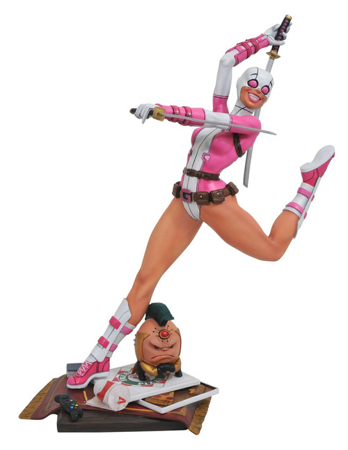 Marvel Premier Collection Gwenpool Collectible Resin Statue