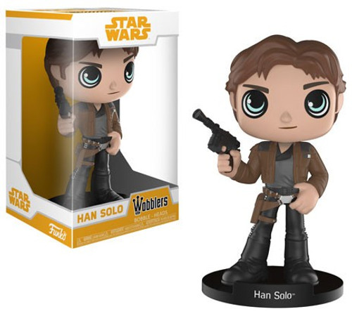 Funko Star Wars Wobblers Han Solo Bobble Head