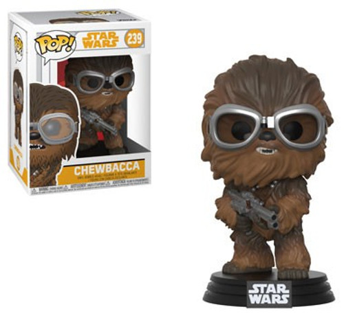 Funko Solo POP! Star Wars Chewbacca Vinyl Bobble Head #239 [with Goggles]