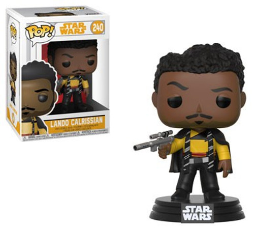 Funko Solo A Star Wars Story POP! Star Wars Lando Clarissian Vinyl Bobble Head #240 [Main Outfit]