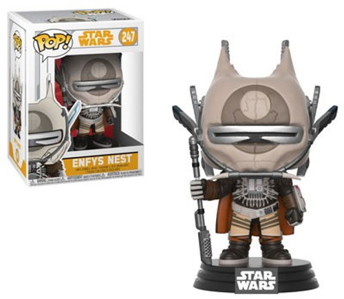 Funko Solo A Star Wars Story POP! Star Wars Enfys Nest Vinyl Bobble Head #247