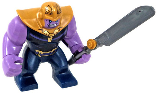 LEGO Marvel Avengers Infinity War Thanos Minifigure [Big Figure Loose]