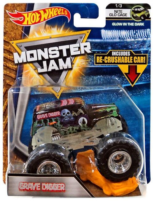 Hot Wheels Monster Jam 25 Grave Digger Die-Cast Car