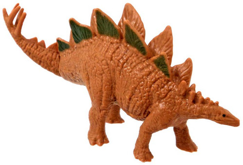 Jurassic World Matchbox Mini Dinosaur Figure Stegosaurus 2-Inch Mini Figure [Loose]