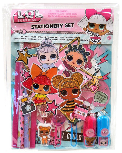 LOL Surprise Stationery Set Kit [Small]