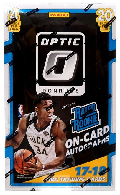 NBA Panini 2017-18 Donruss Optic Basketball Trading Card RETAIL Box [20 Packs]