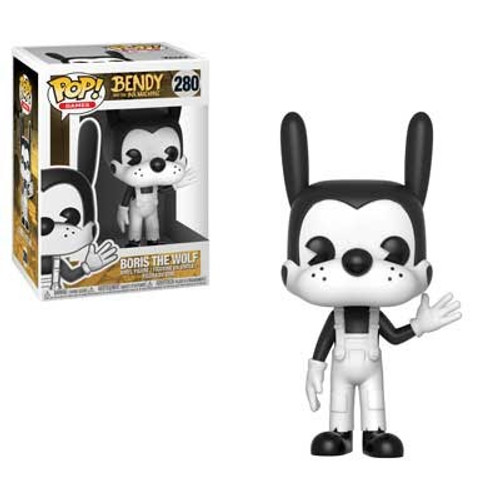 Funko Bendy and the Ink Machine POP! Games Boris the Wolf Vinyl Figure #280 [Damaged Package]