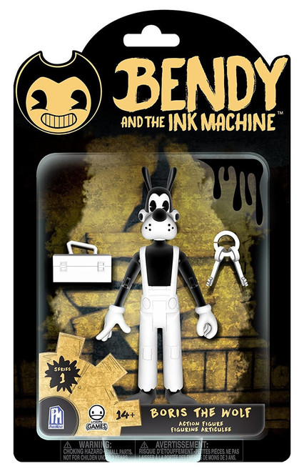 Bendy and the Ink Machine Series 1 Boris the Wolf Action Figure