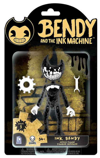 Bendy and the Ink Machine Ink Bendy Action Figure [Inked Up]
