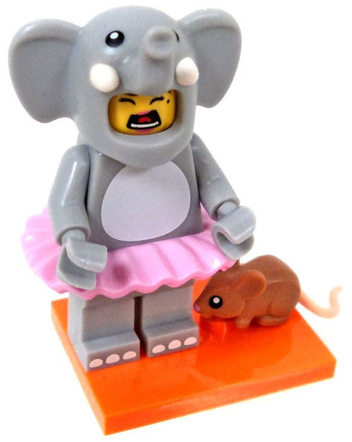 LEGO Minifigures Series 18 Elephant Girl Minifigure [Loose]