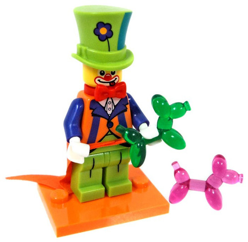 LEGO Minifigures Series 18 Party Clown Minifigure [Loose]