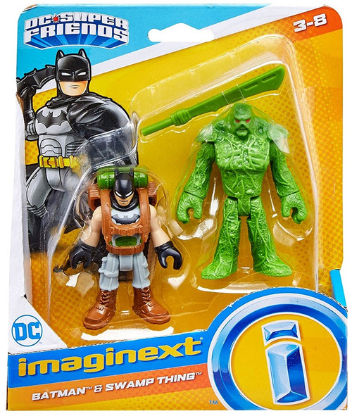 Fisher Price DC Super Friends Imaginext Batman & Swamp Thing Figure Set