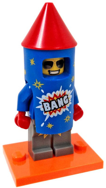 LEGO Minifigures Series 18 Firework Guy Minifigure [Loose]