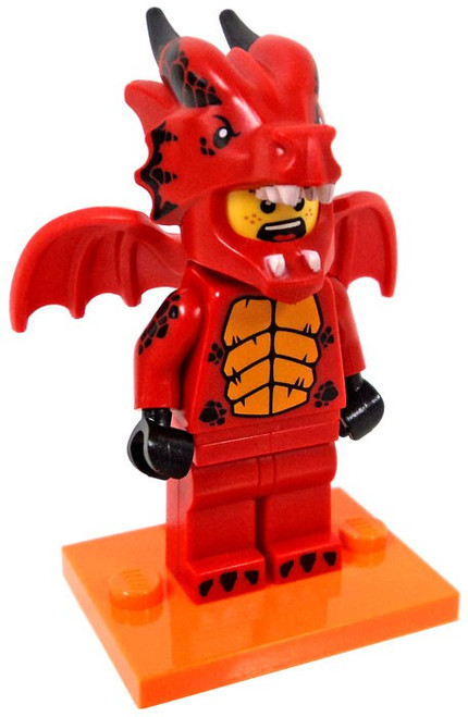 LEGO Minifigures Series 18 Dragon Suit Guy Minifigure [Loose]