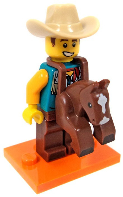 LEGO Minifigures Series 18 Cowboy Costume Guy Minifigure [Loose]
