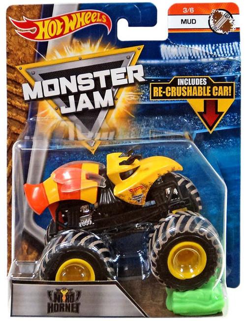 Hot Wheels Monster Jam 25 Nitro Hornet Die-Cast Car #3/6 [Mud]