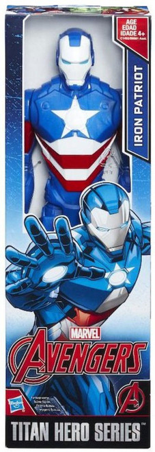 Marvel Avengers Titan Hero Series Iron Patriot Action Figure