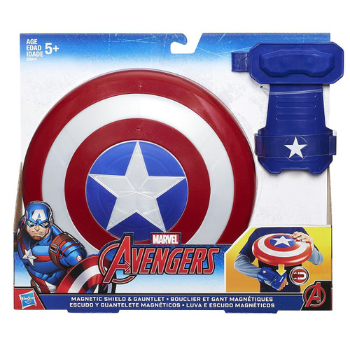 Captain America Civil War Magnetic Shield & Gauntlet Roleplay Toy