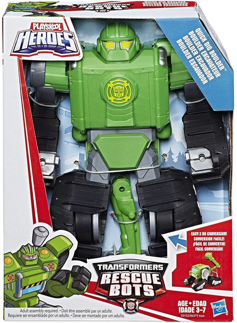 Transformers Playskool Heroes Rescue Bots Quick Dig Boulder Action Figure