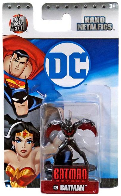 DC Batman Beyond Nano Metalfigs Batman 1.5-Inch Diecast Figure DC51 [DC51]