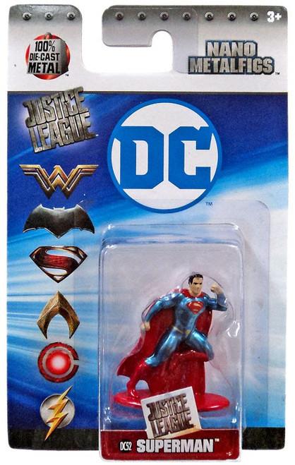 DC Justice League Nano Metalfigs Superman 1.5-Inch Diecast Figure DC52 [DC52]