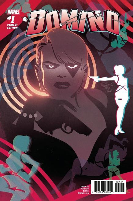 Marvel Comics Domino #1 Comic Book [Charretier Variant Cover]