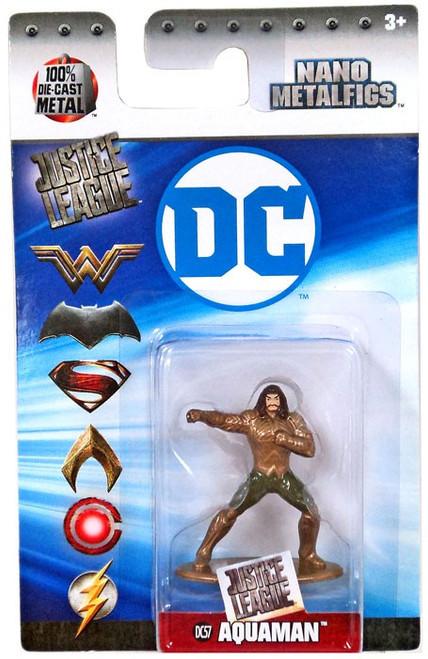 DC Nano Metalfigs Aquaman 1.5-Inch Diecast Figure DC57 [DC57]