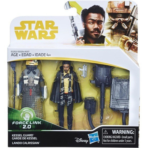 Solo A Star Wars Story Force Link 2.0 Lando Calrissian & Kessel Guard Action Figure 2-Pack