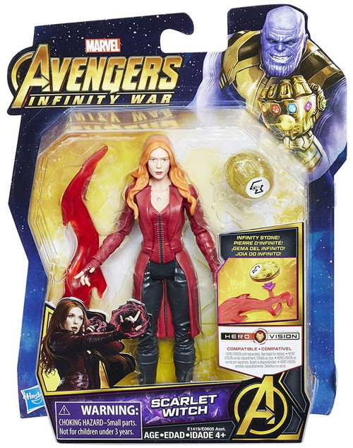 Marvel Avengers Infinity War Scarlet Witch Action Figure [with Stone]