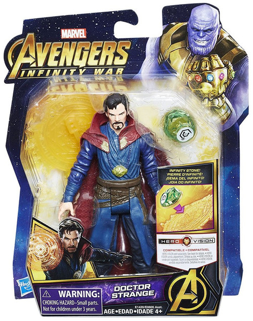Marvel Avengers Infinity War Doctor Strange Action Figure [with Stone]