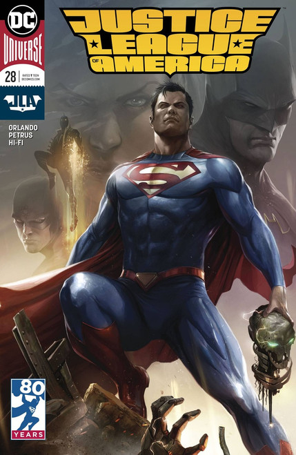 DC Justice League of America #28 Comic Book [Variant Cover]