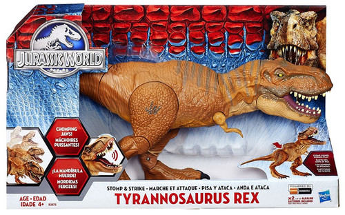 Jurassic World Stomp & Strike Tyrannosaurus Rex Action Figure