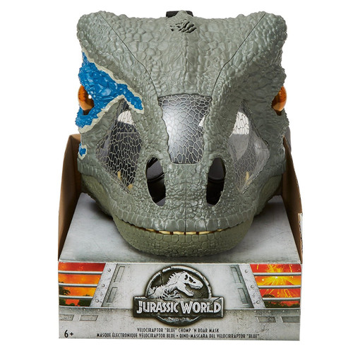 Jurassic World Fallen Kingdom Velociraptor Blue Deluxe Mask [Chomp 'N Roar]