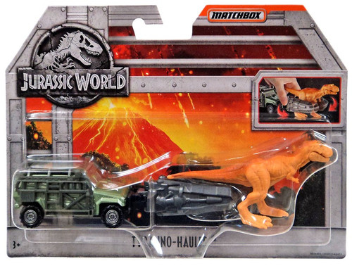 Jurassic World Matchbox Tyranno Hauler Diecast Vehicle