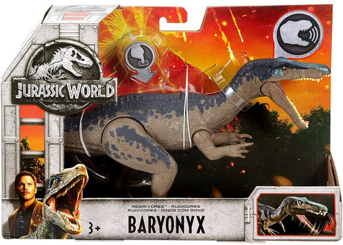 Jurassic World Fallen Kingdom Roarivores Baryonyx Action Figure