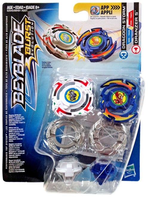 Beyblade Burst Dragoon Storm & Dranzer S Dual Pack