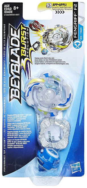 Beyblade Burst Evolution Fengriff F2 Single Top