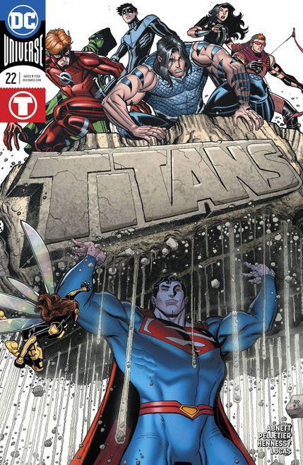 DC Titans #22 Comic Book [Variant Cover]