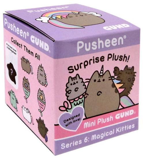 Pusheen Series 6 Magical Kitties Mystery Pack [1 RANDOM Mini Plush Figure]