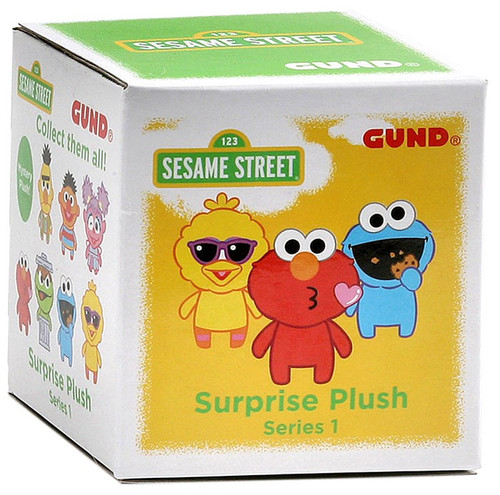 Sesame Street Series 1 Surprise Plush 3-Inch Mystery Pack