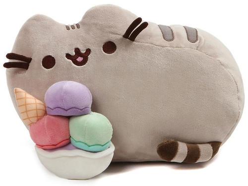 Pusheen Ice Cream Sundae 12-Inch Plush
