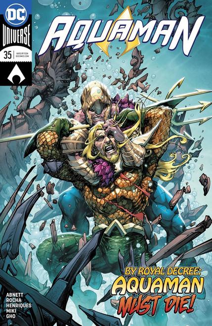 DC Aquaman #35 Comic Book