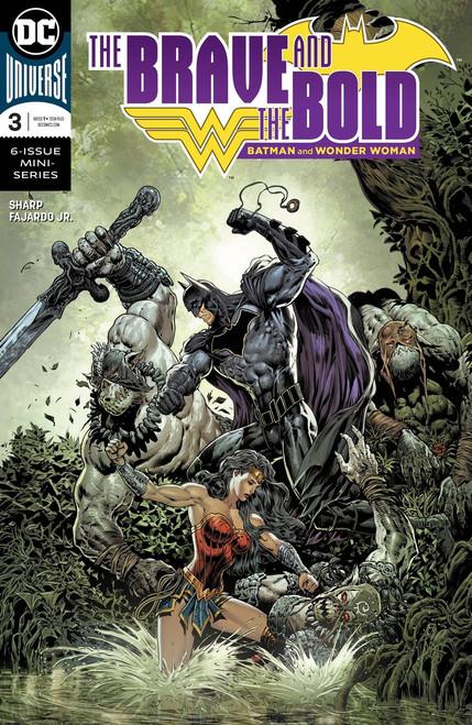 DC Brave & The Bold Batman & Wonder Woman #3 Comic Book