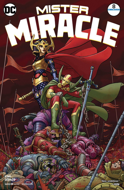 DC Mister Miracle #8 Comic Book