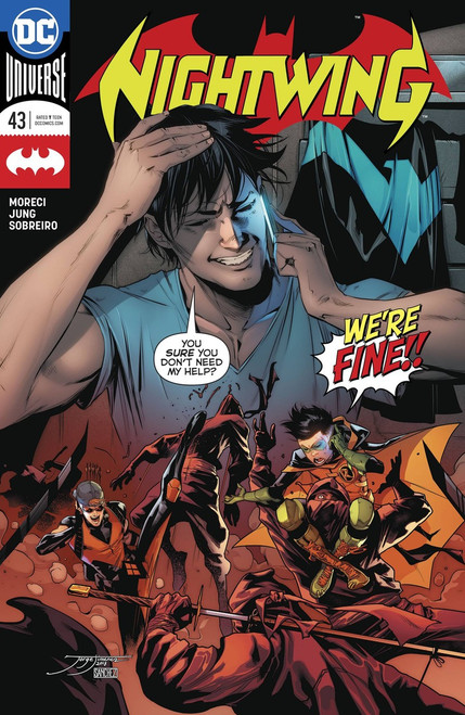 DC Nightwing #43 Comic Book